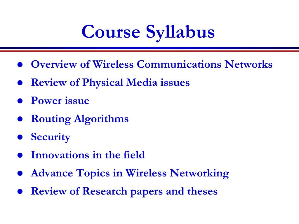 PPT - Wireless Communication and Networks PowerPoint