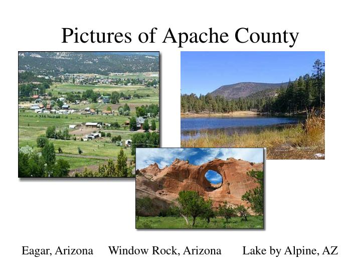Pictures of Apache County