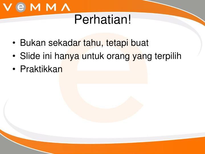 Perhatian