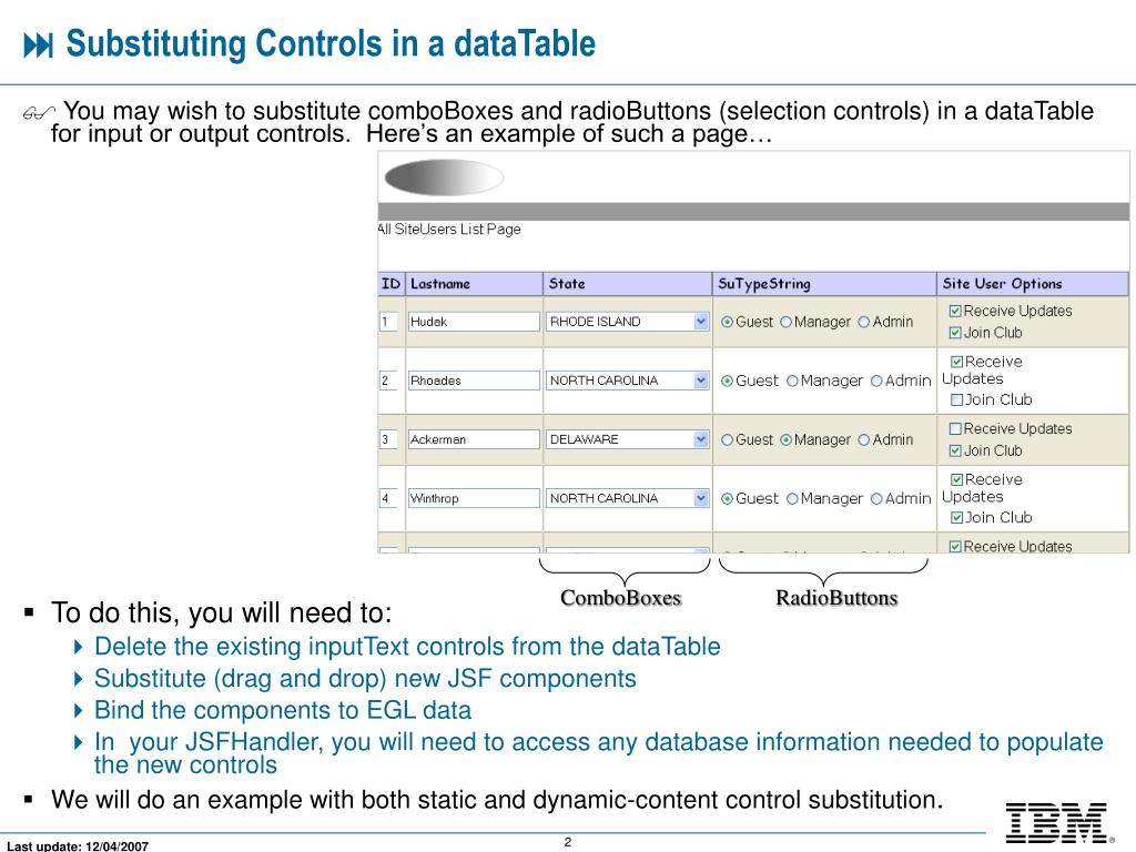 Datatables Buttons Example