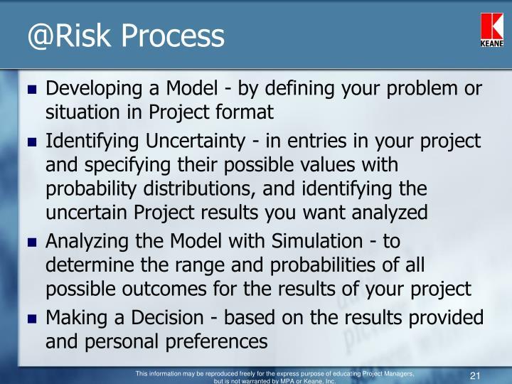 @Risk Process