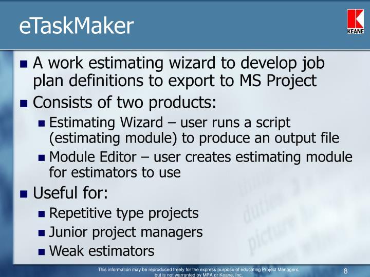eTaskMaker