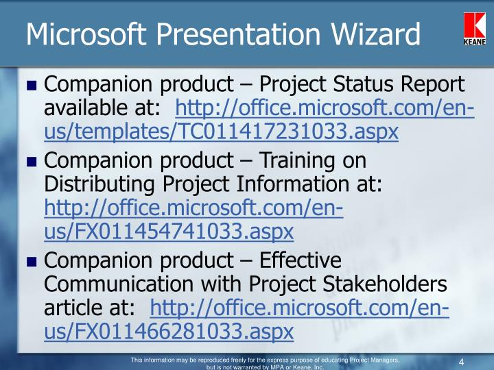 ppt ms project addon products powerpoint presentation