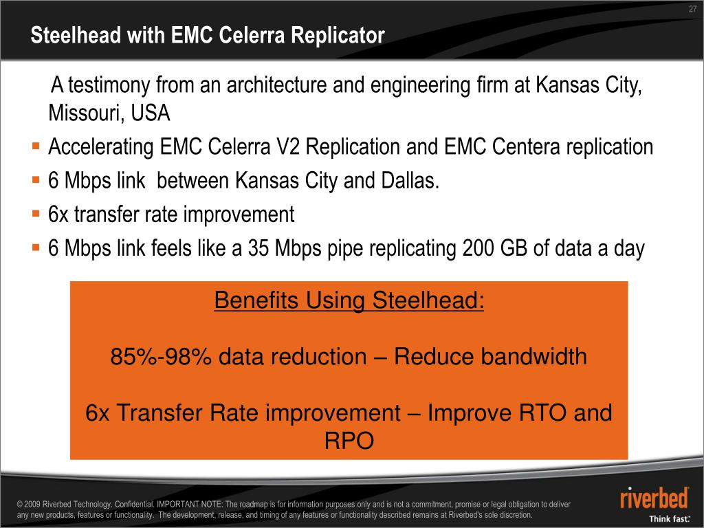 PPT - Data Center Replication Across the WAN with EMC