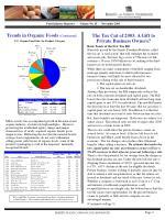 food industry reporter volume no ii november 2003