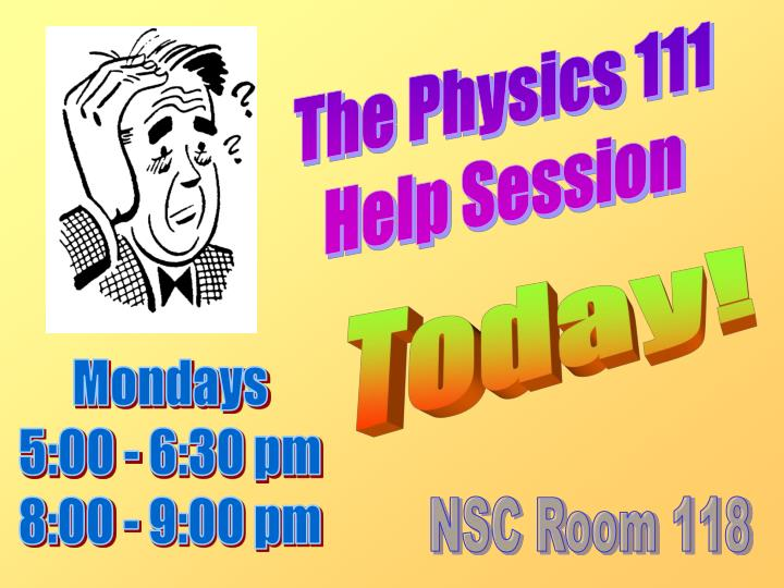 The Physics 111