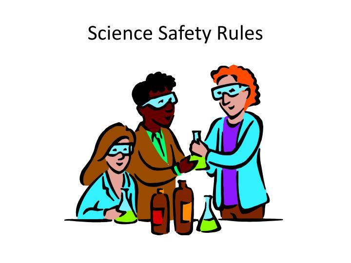 science safety rules n.