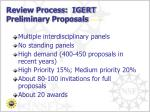 review process igert preliminary proposals