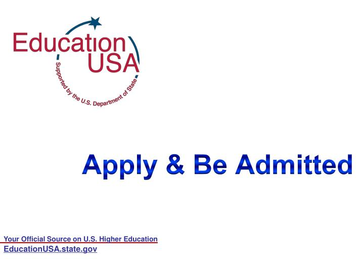 apply be admitted n.