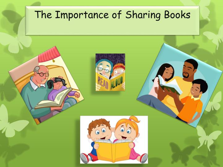 the importance of sharing books n.