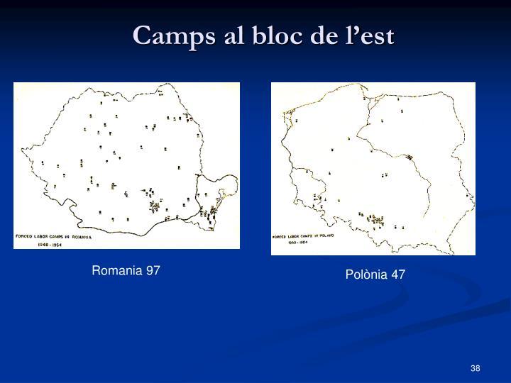 Camps al bloc de l'est