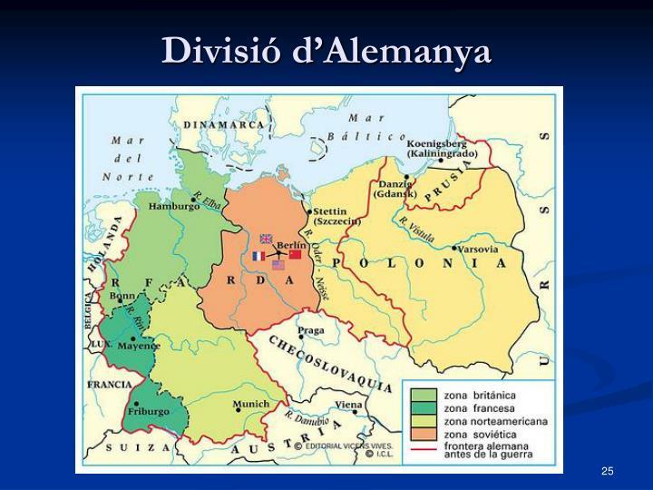 Divisió d'Alemanya