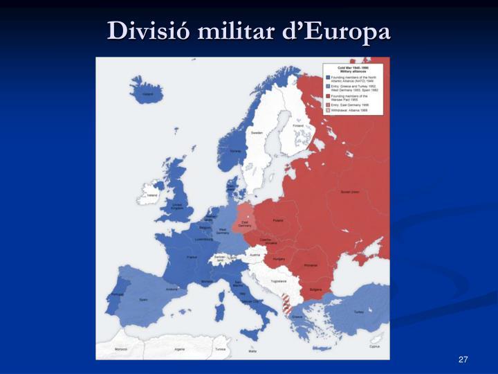 Divisió militar d'Europa
