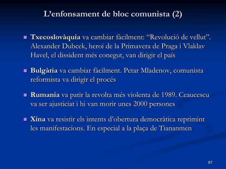 L'enfonsament de bloc comunista (2)