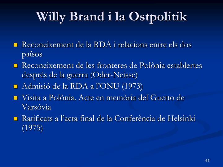 Willy Brand i la Ostpolitik
