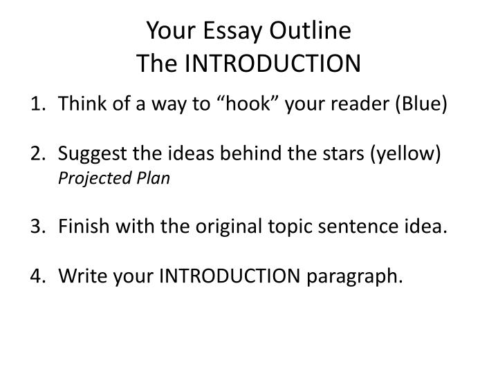 Your Essay Outline