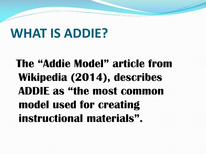 Ppt The Addie Model Powerpoint Presentation Id6248210