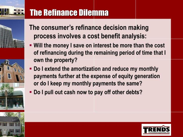 The Refinance Dilemma