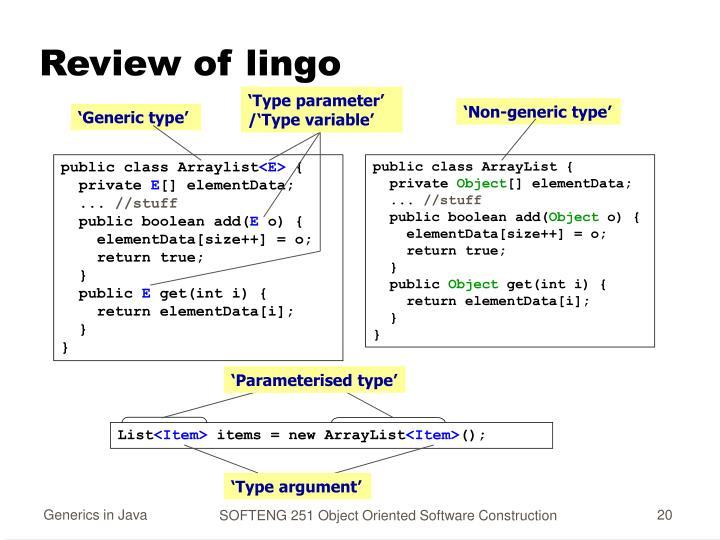 'Type parameter'