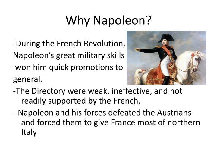 Why napoleon