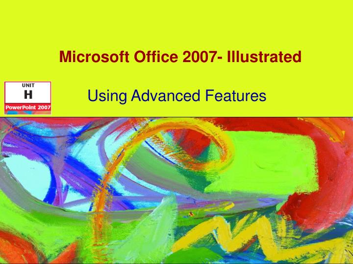 microsoft office 2007 illustrated n.