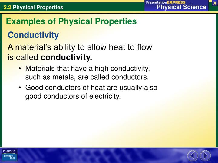 Ppt What Are Some Examples Of Physical Properties Powerpoint