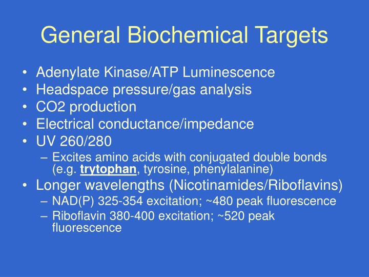 General Biochemical Targets