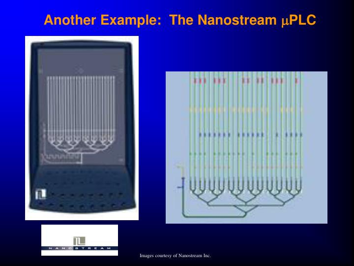 Another Example:  The Nanostream