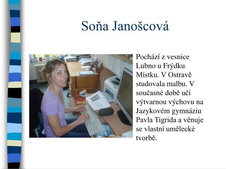 Soňa Janošcová