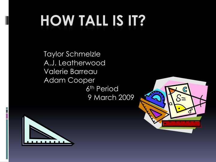 how tall is it n.