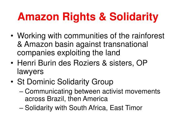 Amazon Rights & Solidarity
