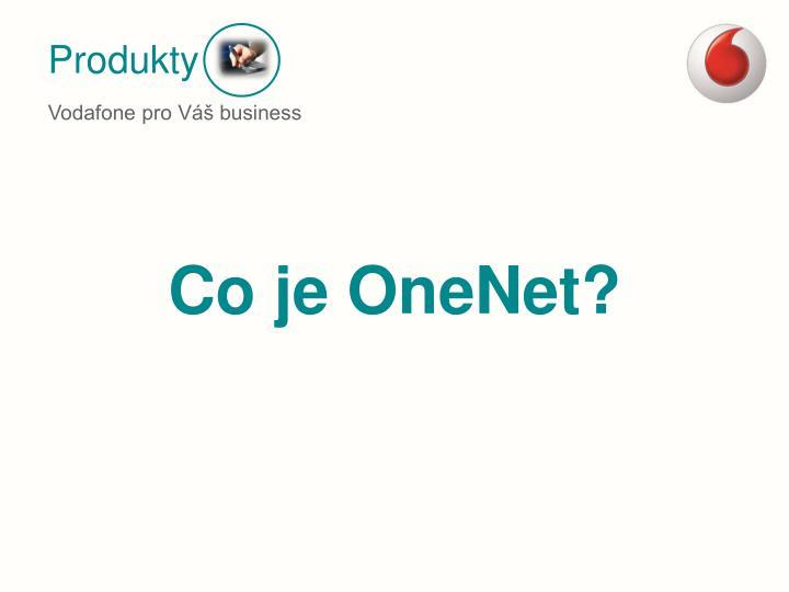 Co je OneNet?