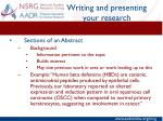 writing and presenting your research2