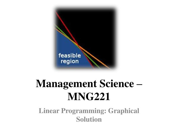 management science mng221 n.
