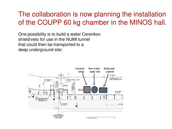 The collaboration is now planning the installation