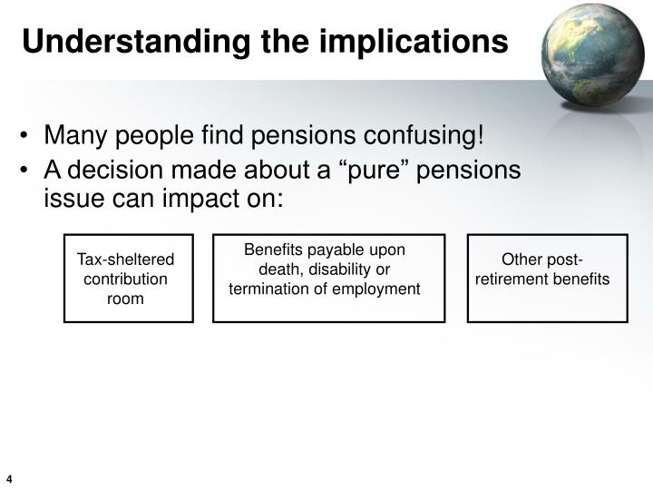 Benefits payable upon death, disability or termination of employment