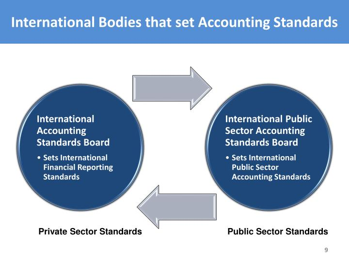 International Bodies that set Accounting Standards