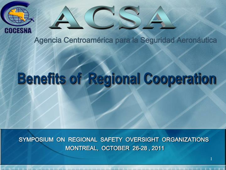 benefits of regional cooperation n.