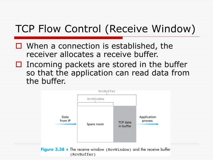 TCP Flow Control (Receive Window)