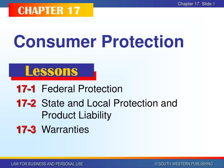 consumer protection n.