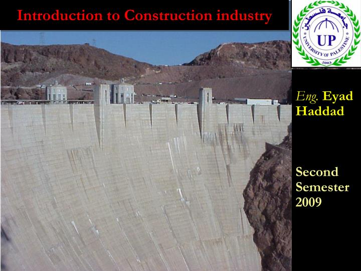introduction to construction industry n.