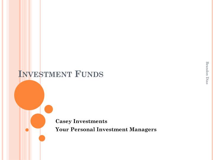 investment funds n.