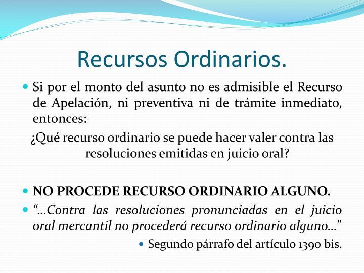 Ppt el juicio oral mercantil powerpoint presentation id6251728 recursos ordinarios ccuart Gallery