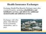 health insurance exchanges3