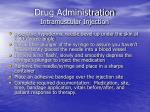 drug administration intramuscular injection