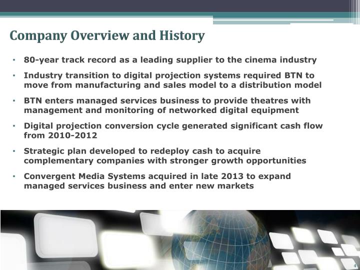 Company Overview and History