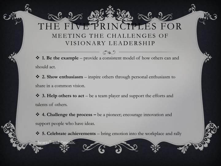 The five principles for
