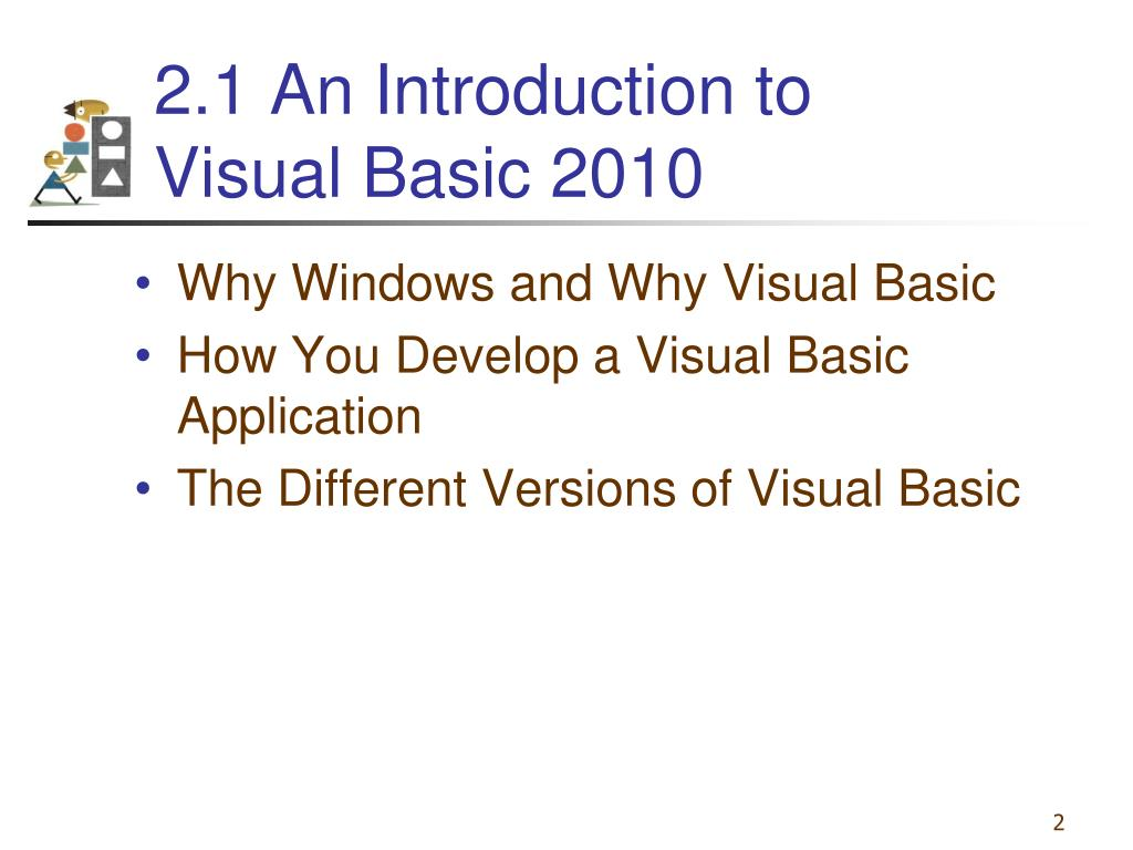 PPT - Chapter 2 –Visual Basic, Controls, and Events PowerPoint