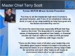 master chief terry scott