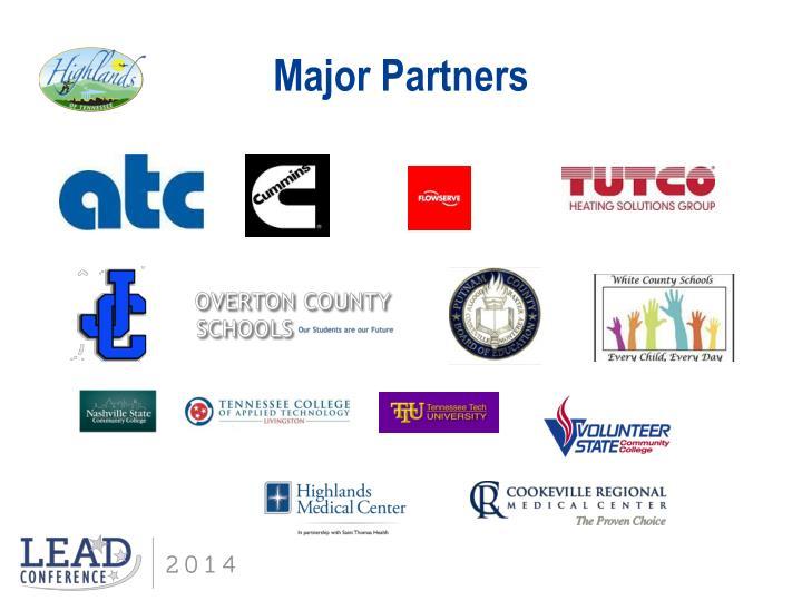Major Partners